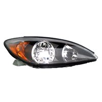 Aftermarket 2002-2004 Toyota Camry  Aftermarket Driver Side Front Head Lamp Assembly 81150AA070-V