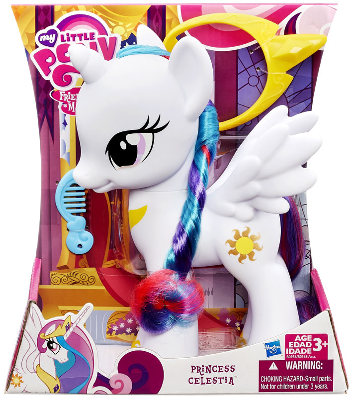 "My Little Pony Friendship is Magic 8 Inch Princess Celestia 8"" Figure by Hasbro"