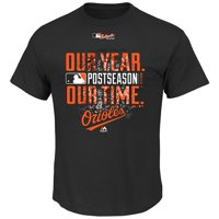 Baltimore Orioles Majestic Youth 2014 Divisional Playoff Official Clubhouse T-Shirt - Black