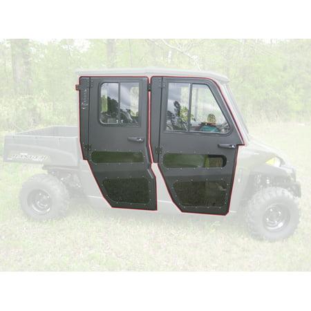 Polaris Ranger 570 Crew Midsize Steel Doors Only for Cab Enclosure ProFit Frame ()