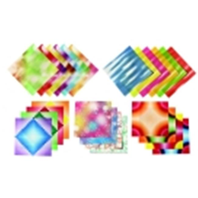 Aitoh Assorted Pattern Origami Paper, Pack - 184