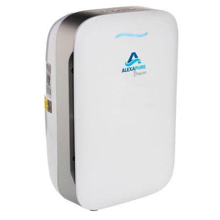 Alexapure Breeze Energy Efficient HEPA + IonCluster Air Filter Purification System - New