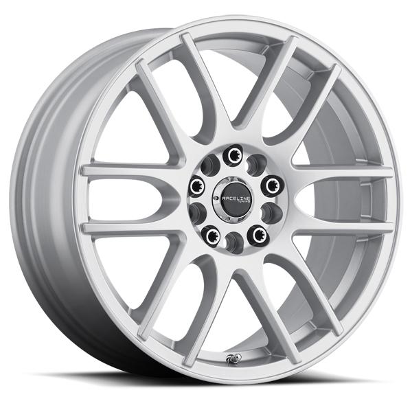 "15"" Inch Raceline 141S Mystique 15x7 4x100/4x108 +40mm Silver Wheel Rim"