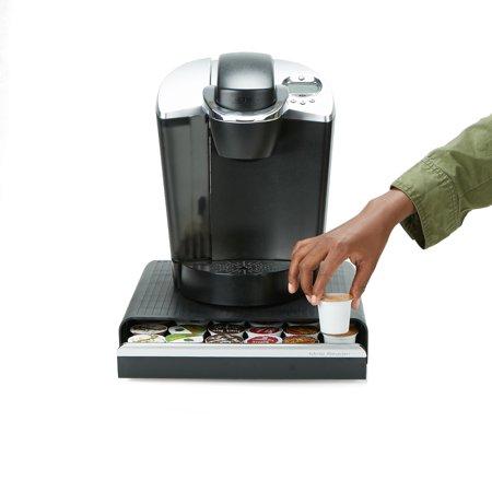 Mind Reader 36 Capacity K-Cup Single Serve Coffee Pod Storage Drawer Organizer - Black