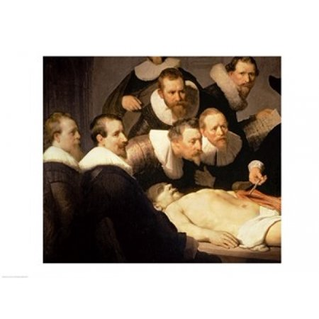 The Anatomy Lesson Of Dr Nicolaes Tulp 1632 Canvas Art Rembrandt