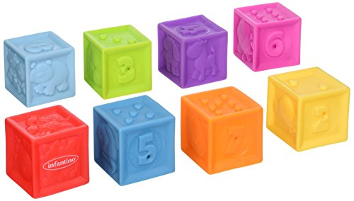 Infantino Squeeze and Stack Block Set by Infantino