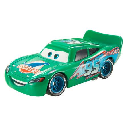Disney/Pixar Cars Color Changers Dinoco Lightning Mcqueen Vehicle (Lightning Mcqueen Outfit)