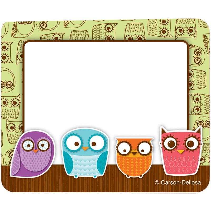 (6 Pk) Owls Name Tags - 40 Per Pk - image 1 de 1