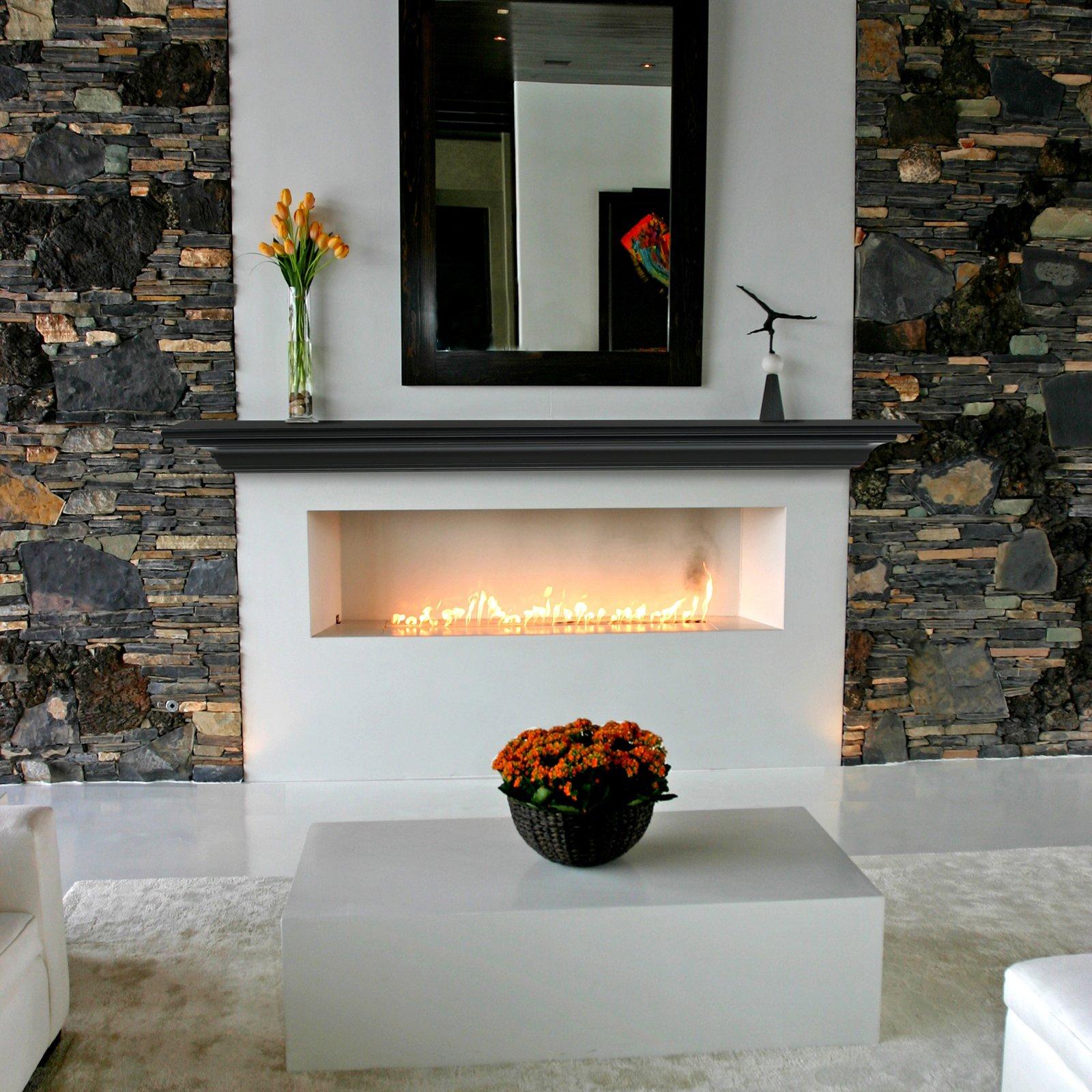 Pearl Mantels Crestwood Transitional Fireplace Mantel Shelf
