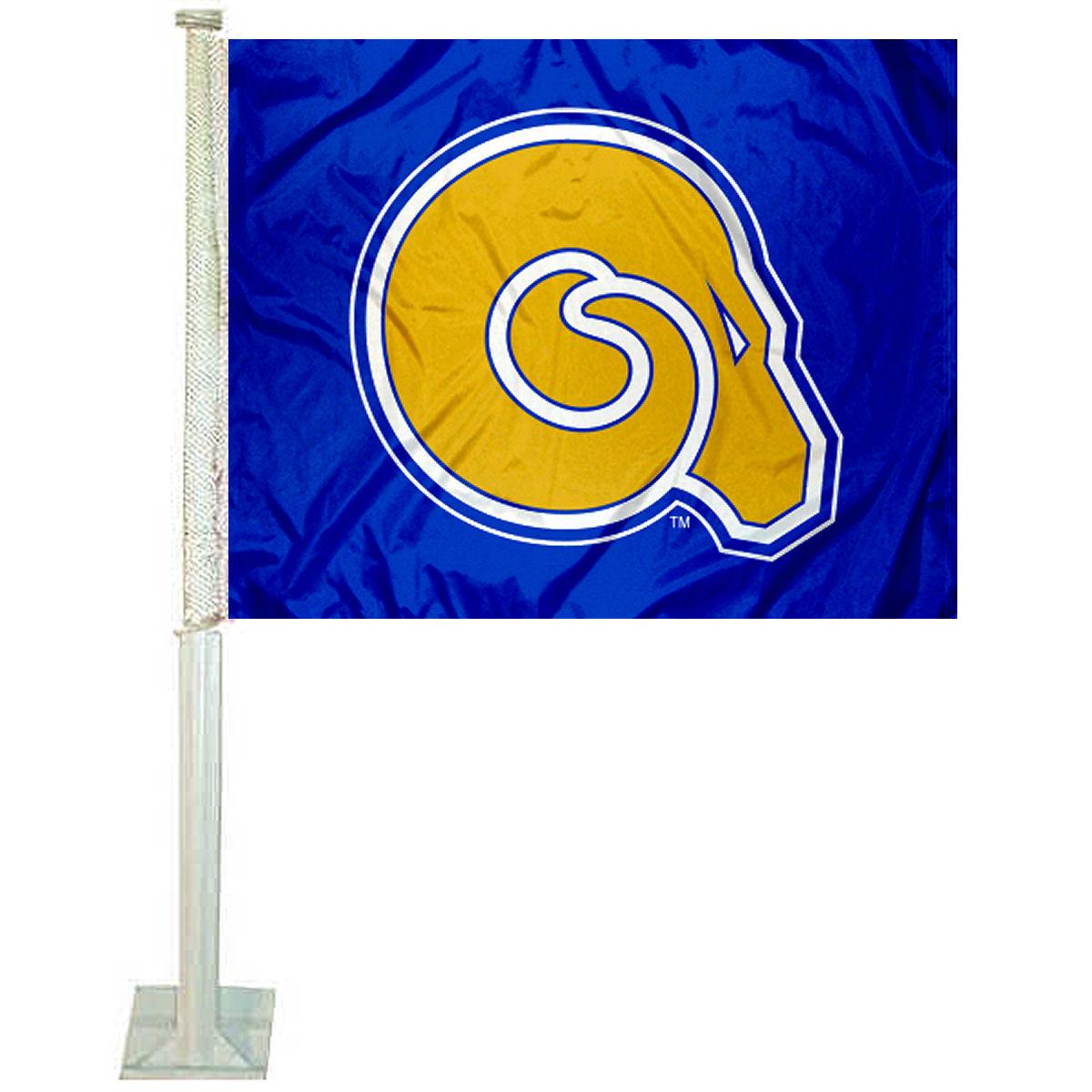 "Albany State University 12"" x 15"" Car Flag"