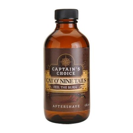 Cat o Nine Tails Bay Rum Aftershave by Captain