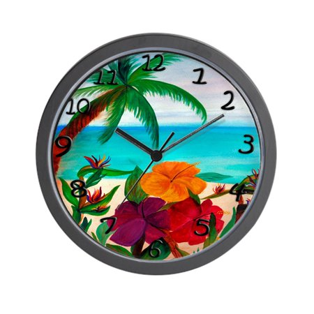 CafePress - Tropical Floral Beach - Unique Decorative 10