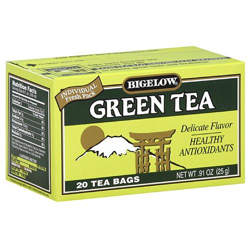 Bigelow Green Tea, 20ct (Pack of 6)