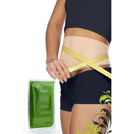 Lipo Applicator Ultimate Body Wrap it works for stomach Inch Loss Tone Contouring Shaping Set 6 wraps  + Defining (Lipo Light Laser Body Contouring Treatments Reviews)