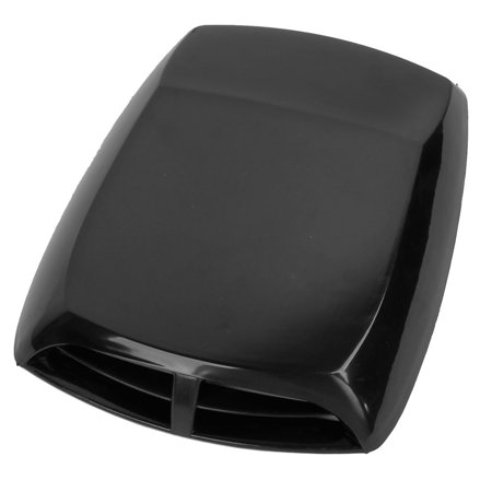 - Universal Car Air Flow Intake Scoop Turbo Bonnet Vent Cover Hood Black