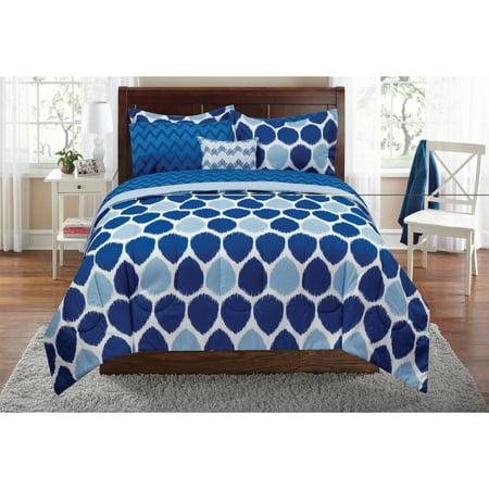 Mainstays Ikat Bed In A Bag Bedding Set