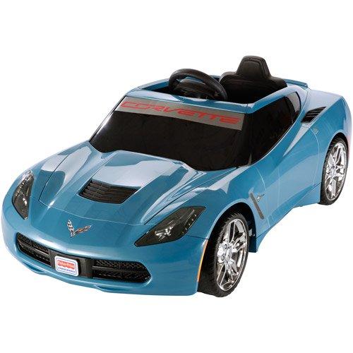 power wheels blue corvette