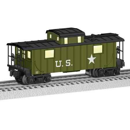 Whittle Caboose (Lionel Trains Green U.S. Caboose )