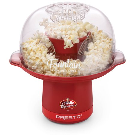 Orville Redenbachers  Hot Air Fountain  Popper By Presto