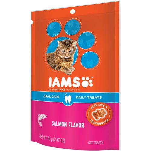Iams Proactive Health Salmon Cat Treats, 2.47 Oz by Mars Petcare