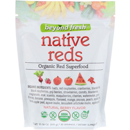 Beyond Fresh - Superfood - Native Reds - Natural Berry Flavor - 300 g (Frozen Berries)