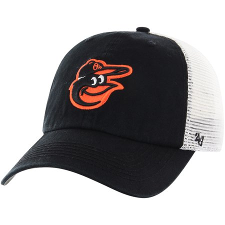 super cute catch best online Baltimore Orioles '47 Blue Hill Closer Flex Hat - Black/White ...