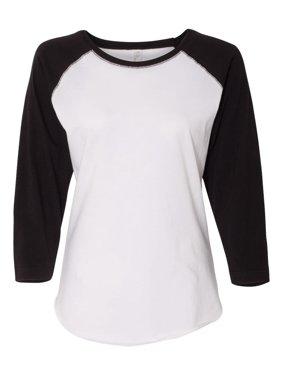 840dcada Product Image 3530 LAT T-Shirts Women's Baseball Fine Jersey Tee
