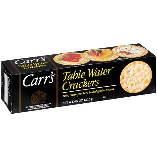 Carr's Original Table Water Crackers, box of 4.25 oz