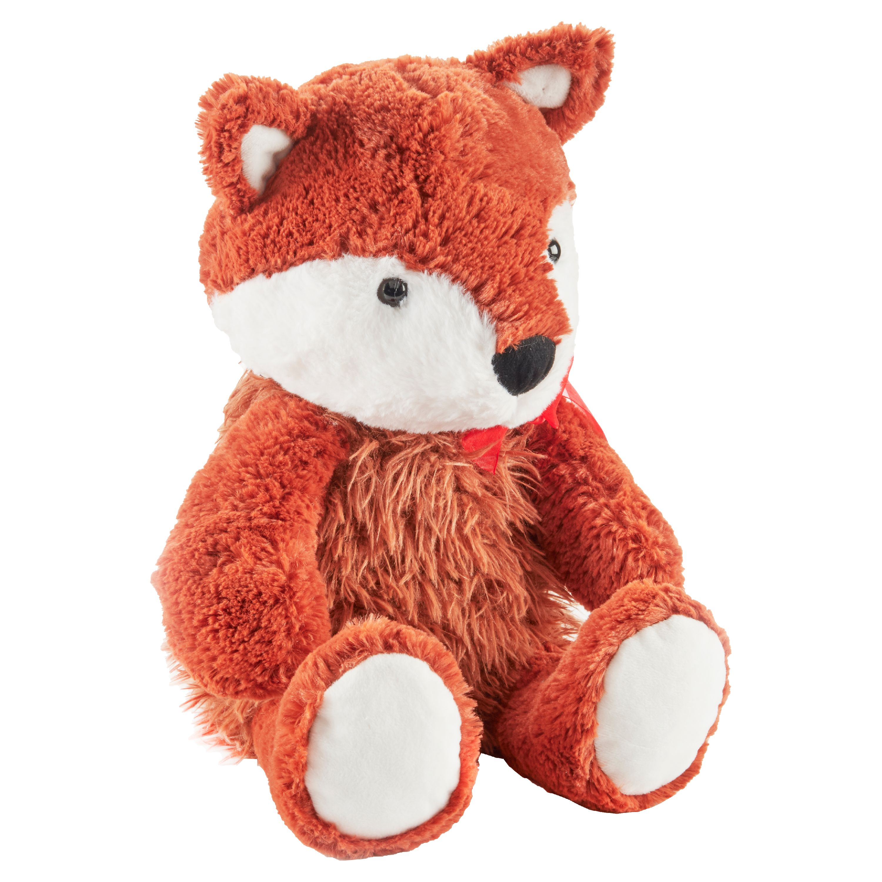 Way To Celebrate Valentine's Day Large Plush Fox