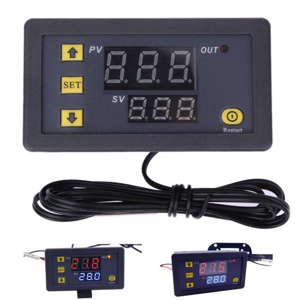 Temperature Alarm Controller Thermometer Temp Regulator Digital Thermostat