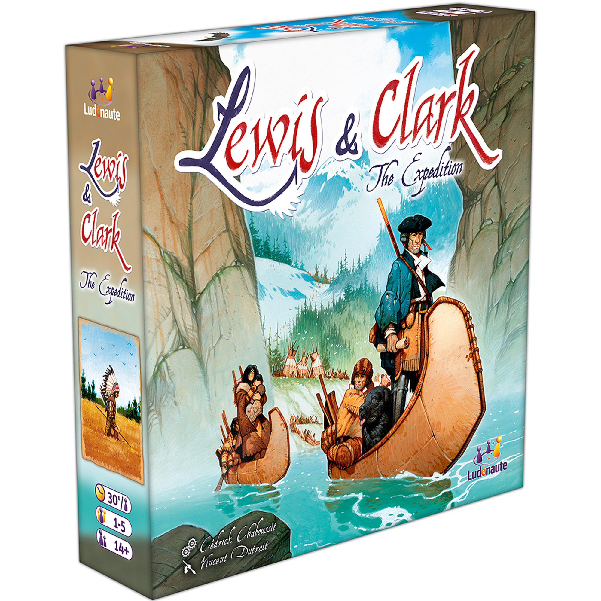 Lewis & Clark Strategy Board Game