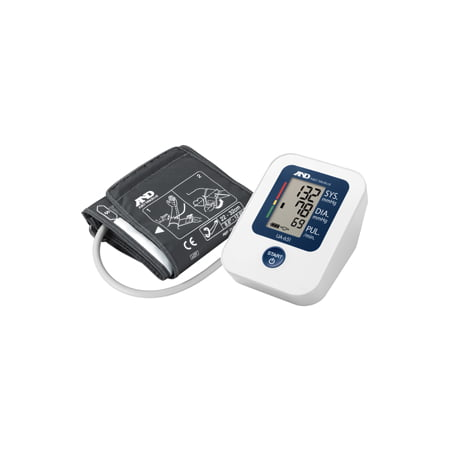 Deluxe Upper Arm Blood Pressure Monitor with Wide Range Cuff