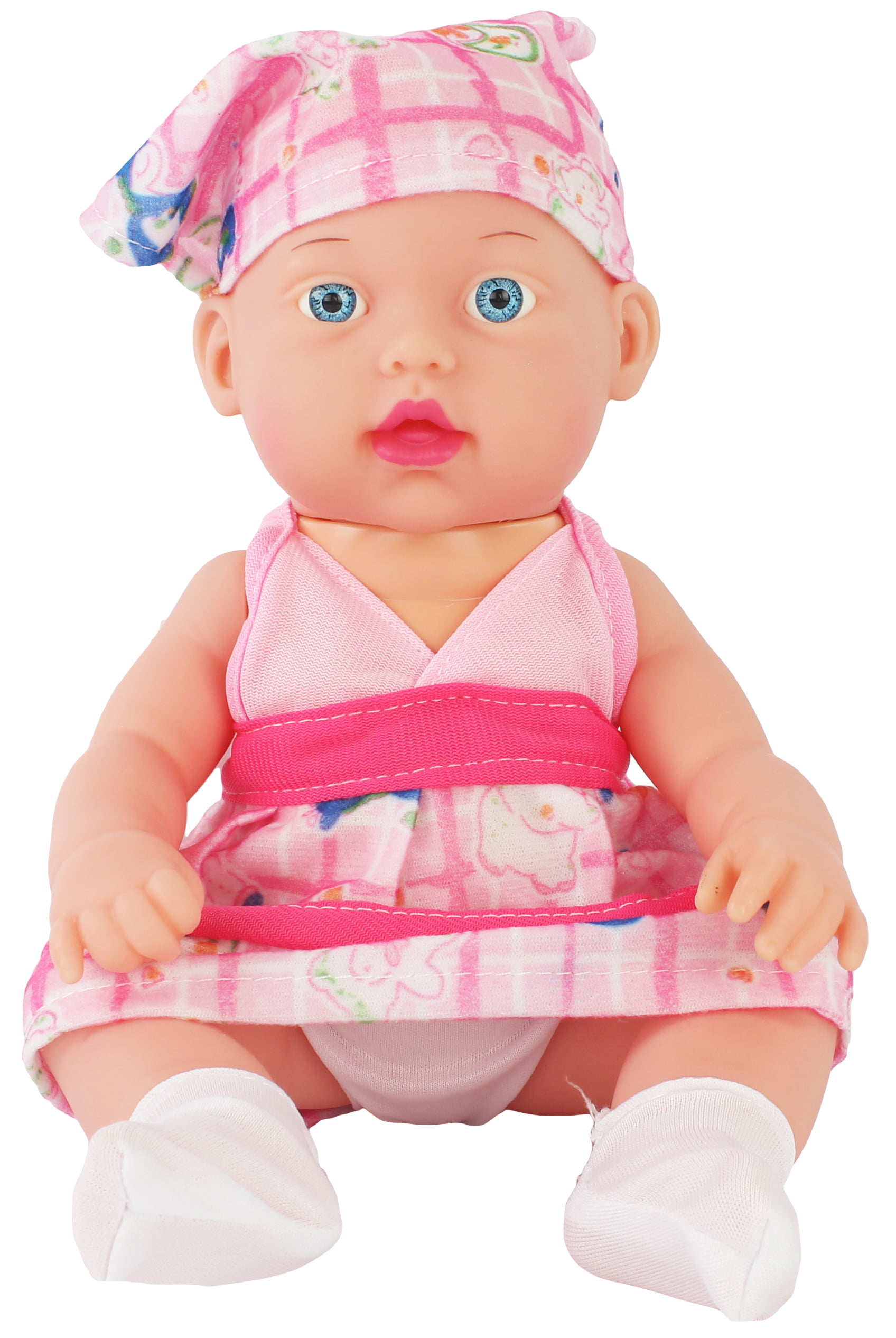 11 Toy Battery Operated Pretend Play Baby Doll Cute Pink Outfit Toy Girls Walmart Com Walmart Com