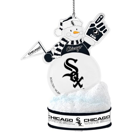 Topperscot by Boelter Brands MLB LED Snowman Ornament, Chicago White Sox