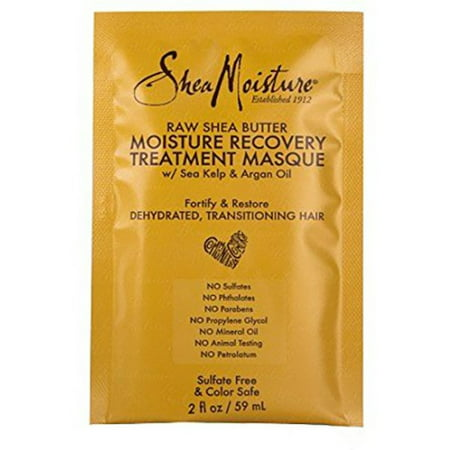 Shea Moisture Raw Shea Butter Moisture Recovery Treatment Masque 2 oz - Masques Horreur-halloween