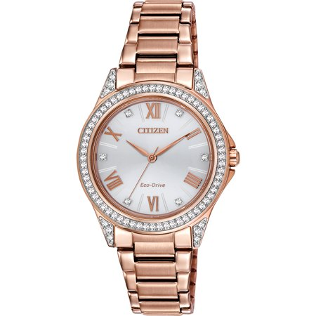 Drive From Eco-Drive Women's EM0233-51A POV Watch