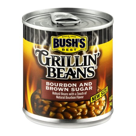 Bush's Best Bourbon and Brown Sugar Grillin' Beans, 8.6 oz