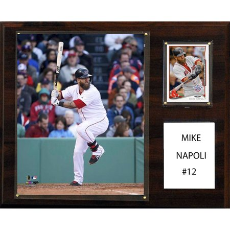 C Collectables Mlb 12X15 Mike Napoli Boston Red Sox Player Plaque