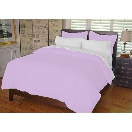 - Warm Things Home 300 Egyptian Cotton Duvet Cover Set Orchid / King