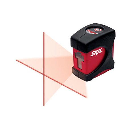 Factory-Reconditioned Skil 8201-CL-RT Self-Leveling Cross-Line Laser(Refurbished)