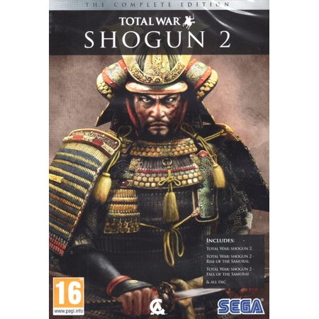Shogun 2: Total War - The Complete Edition (3 PC Games & 11 DLC (Best Computer For Total War Games)