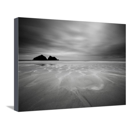 - Cornwall, Holywell Bay, Holywell Beach and Carters or Gulls Rocks, UK Stretched Canvas Print Wall Art By Alan Copson