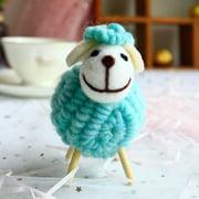 AkoaDa Colorful Plush Toy  Sheep Soft Cotton Sheep Character Kid Toy Gift Doll Christmas Decor