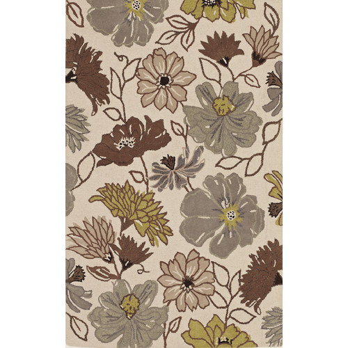 Image of Addison Rugs Addison Freeport Rust Striped Area Rug (5'1 x 7')