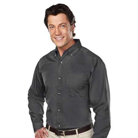 - Tri-Mountain Men's Big And Tall Stain Resistant Twill Shirt