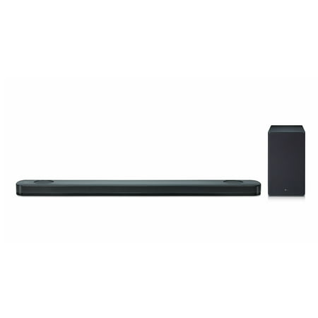 LG 5.1.2 Channel 500W Hi-Res Audio Soundbar with Dolby Atmos - (Lg Smart Sound Mode On Or Off)