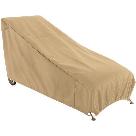 Classic Accessories Terrazzo Patio Chaise Furniture Storage Cover, Sand ()
