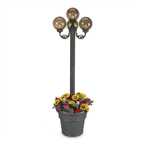 Patio Living Concepts European 4-Light 80'' Post Light by Patio Living Concepts