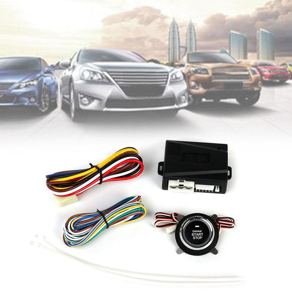 NQ-9001 Universal Car Alarm Engine Start Stop Button Keyless Entry System