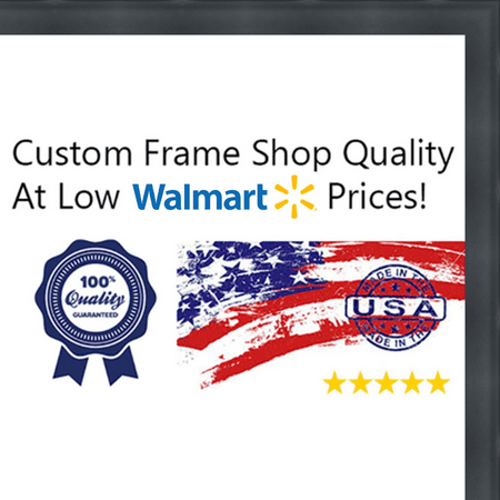 12x24 12 X 24 2 Inch Deep Shadow Box Custom Size Solid Wood Frame
